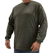 Big & Tall Long-Sleeve Soft Cotton T-Shirt