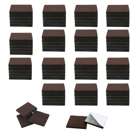 "Felt Furniture Feet Pads Square 3/4"" Self Adhesive Feet Floor Protector 80pcs - image 7 of 7"