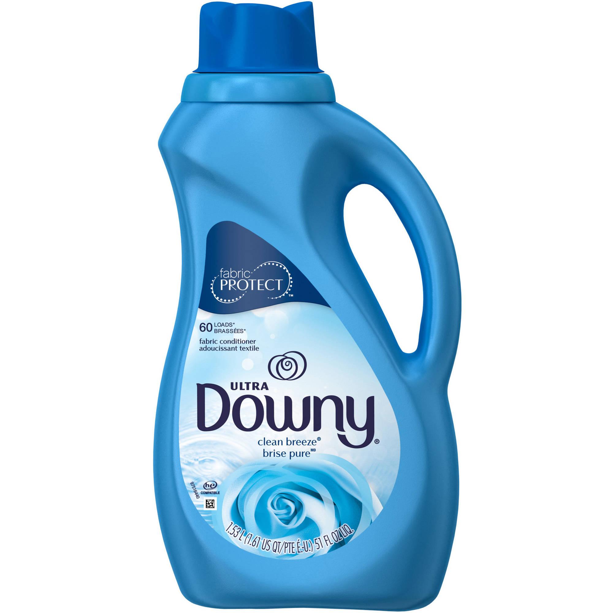 Ultra Downy Clean Breeze Liquid Fabric Softener, 51 fl oz