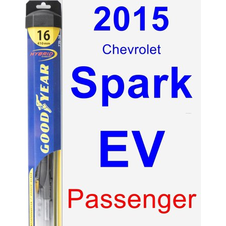 2015 Chevrolet Spark EV Passenger Wiper Blade - Hybrid - Bladed Spear
