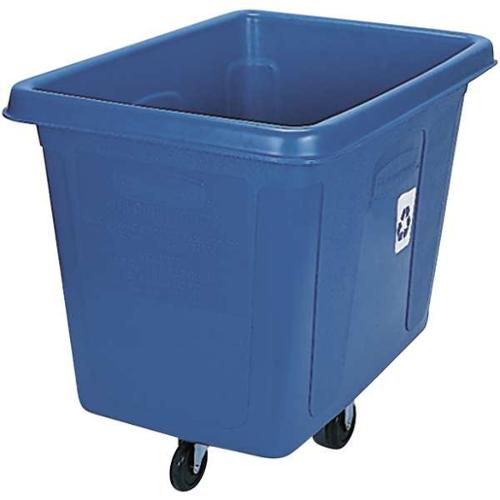 RUBBERMAID FG461673BLUE Truck, Recycling