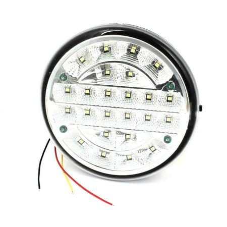 White 24 LED Car Round Dome Roof Ceiling Interior Light Lamp DC 12V - image 3 of 3