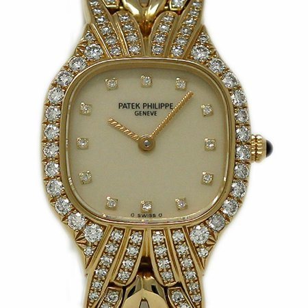Pre-Owned Patek Philippe La Flamme 4815/3 Gold Women Watch (Certified Authentic & - Patek Philippe Ladies