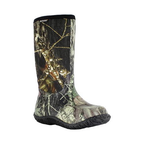 "Bogs Boots Boys Kid 11"" Classic Camo Rubber WP Mossy Oak 61672 by Bogs"