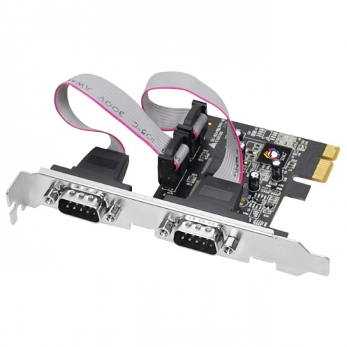 SIIG 2-port PCI Express Serial Adapter - image 2 de 2
