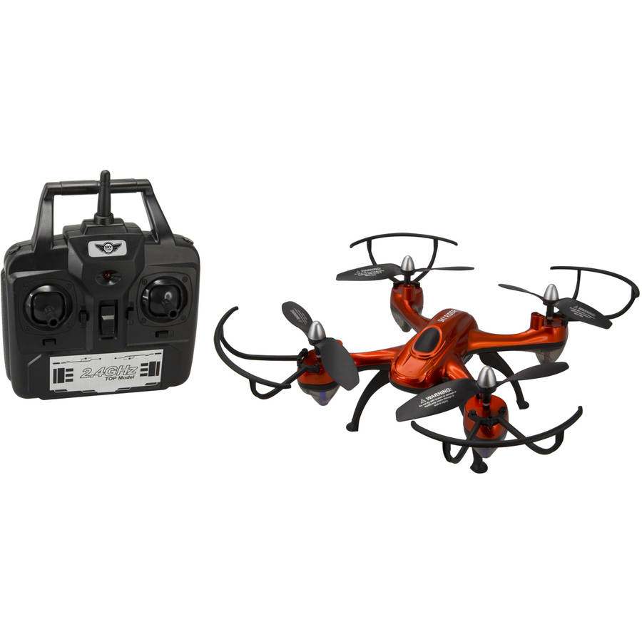 Sky Rider Harrier Pro Quadcopter Drone with Wi-Fi Camera, DRW457O by Sky Rider