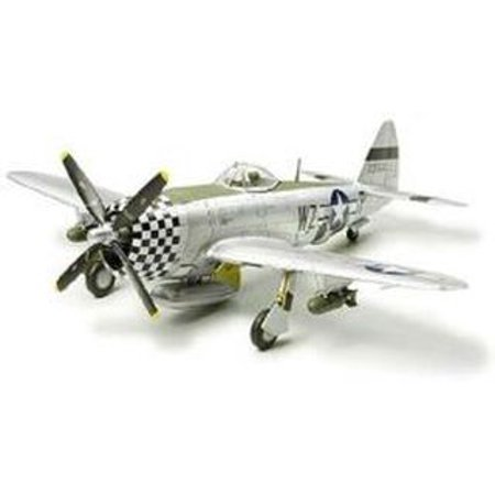 (P-47d Thunderbolt Bubble Top Airplane 1/72 Scale Plastic Model Kit)