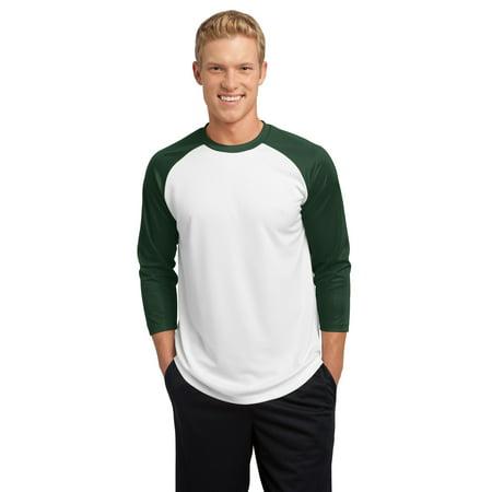 Sport-Tek® Posicharge® Baseball Jersey. St205 White/Forest Green Xs - image 1 de 1