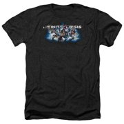 Infinite Crisis Ic Blue Mens Heather Shirt