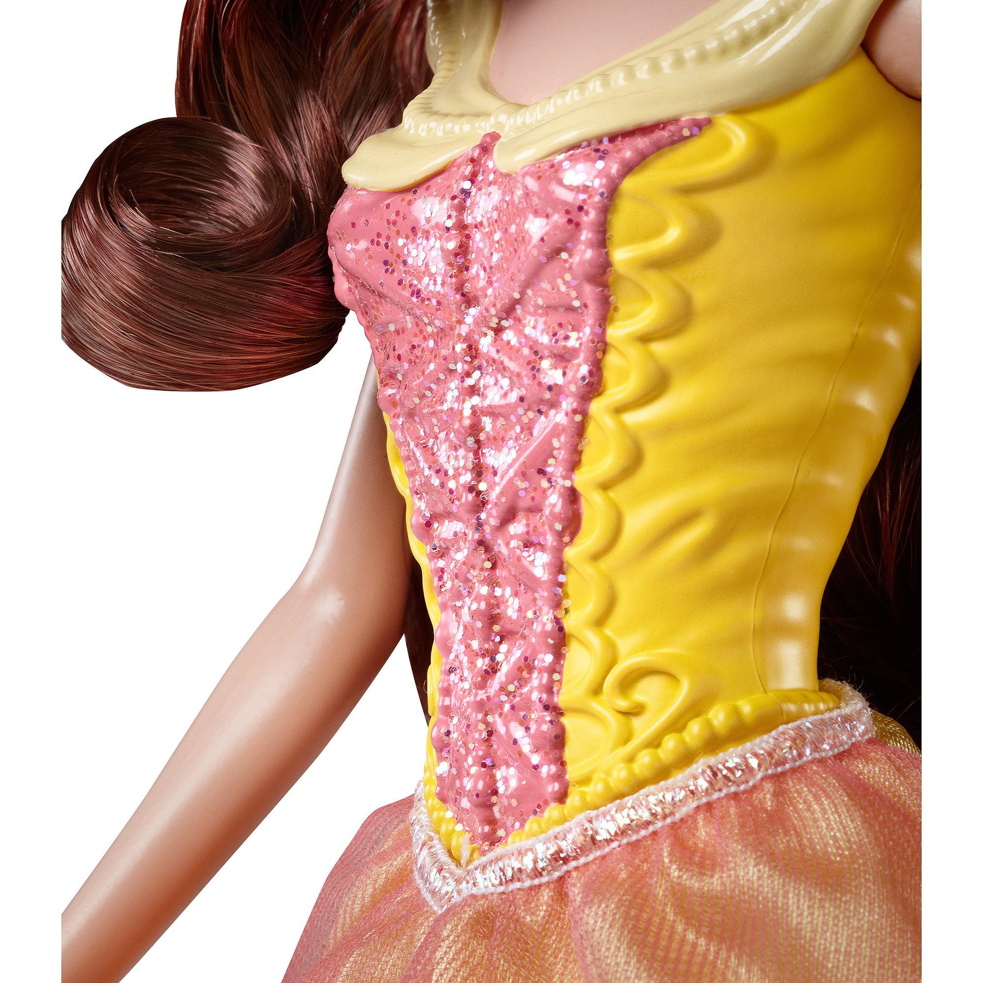 Disney Basic Hairplay Belle Doll - Walmart.com