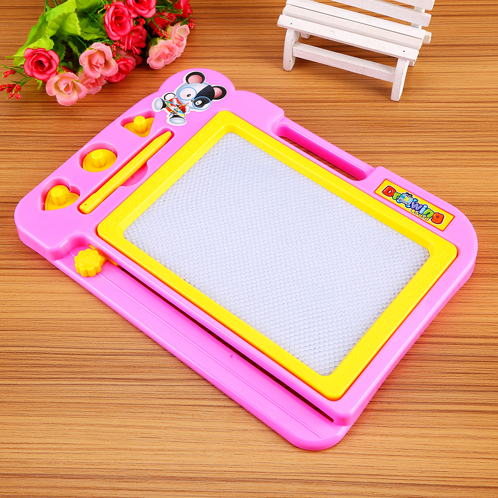 Lv. life Kids Children Magnetic Drawing Board with Painting Pen Writing Sketch Educational Preschool Toy