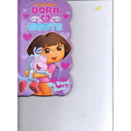 Dora the Explorer Heart Boots My Friend, Boots - Boot Dora