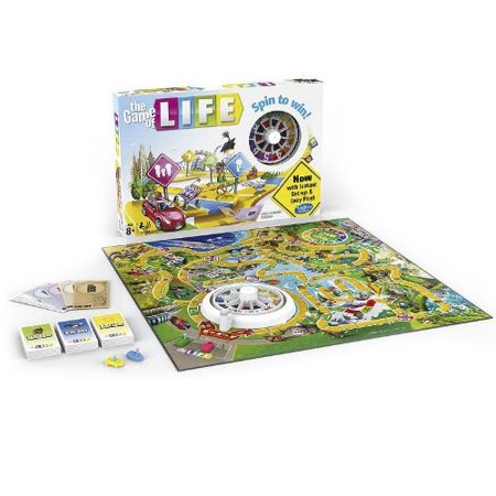 Game Of Life Hasbro ()