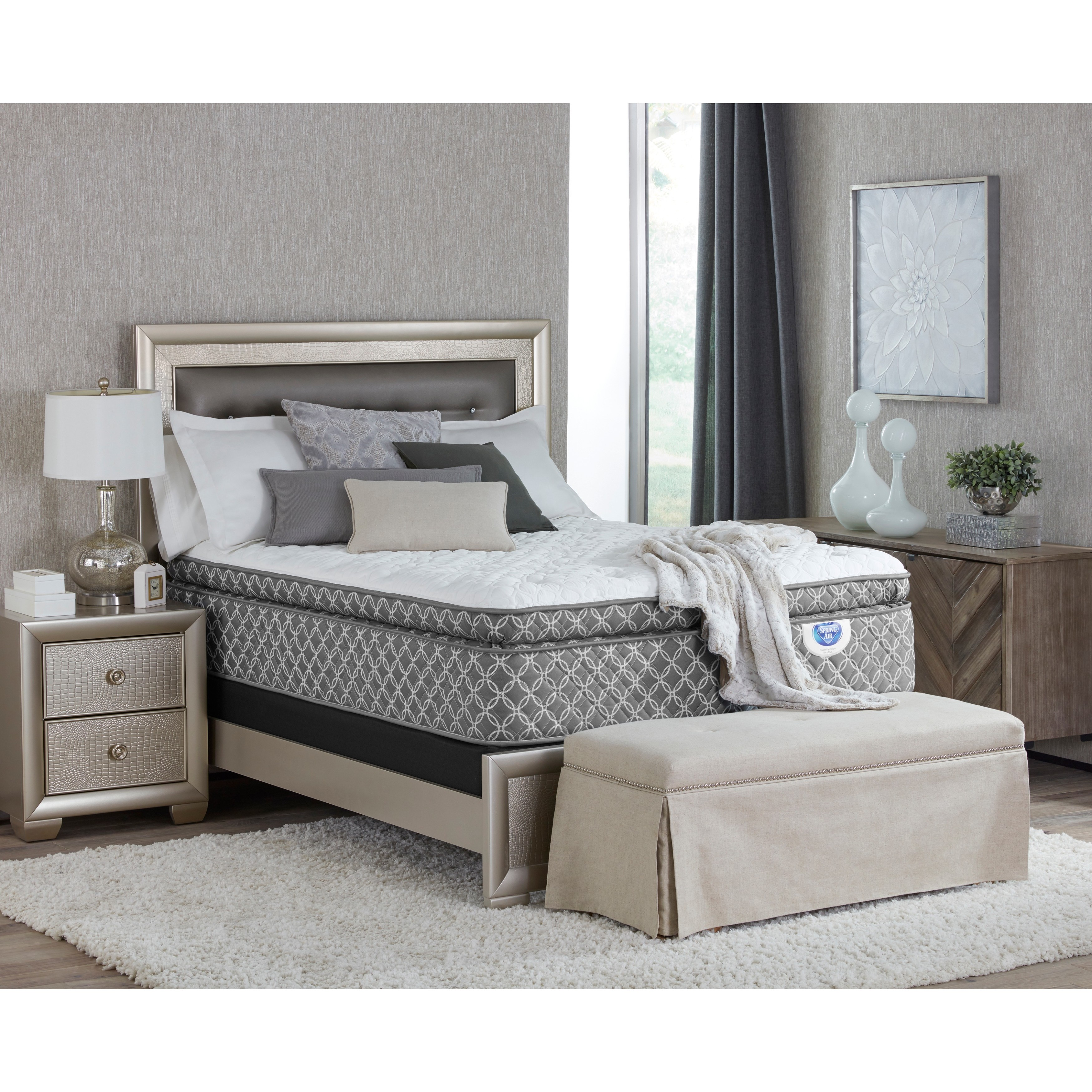Spring Air  Shelby Pillow Top California King-size Mattress