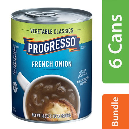 (6 Pack) Progresso Vegetable Classics French Onion Soup, 18.5 oz