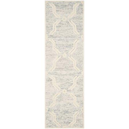 "Safavieh Cambridge 2'6"" X 8' Hand Tufted Wool Rug - image 6 de 10"