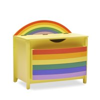 Rainbow Book Pocket and Toy Storage Bin by Drew Barrymore Flower Kids