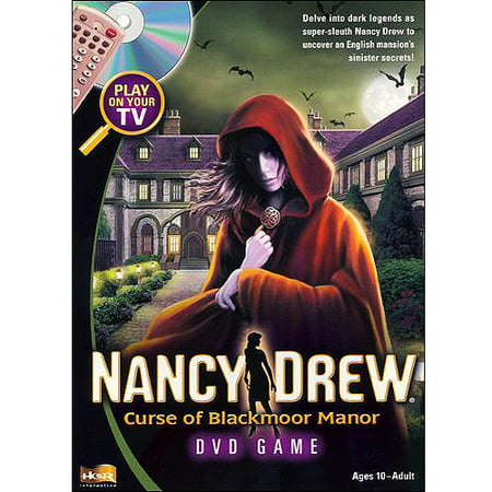 Nancy Drew: Curse Of Blackmoor Manor DVD Game (Nancy Wray The Great Outdoors Tv Show)
