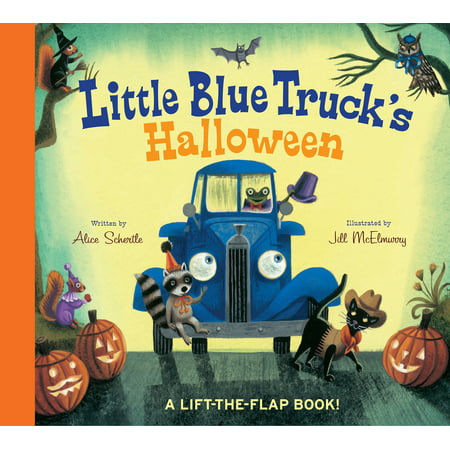 Little Blue Truck's Halloween (Board Book) - Halloween Books For Kindergarteners