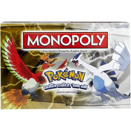 Monopoly Game: Pokemon Johto Edition