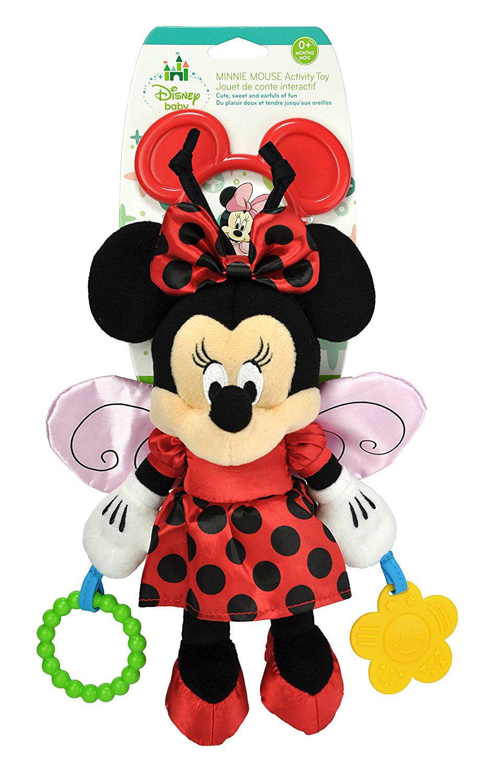 Brand New Disney Ba Minnie Mouse Ladybug Activity Toy Plush, High-quality by