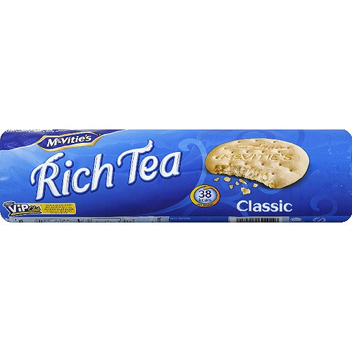 McVitie's Classic Rich Tea Biscuits, 10.5 oz, (Pack of 20)