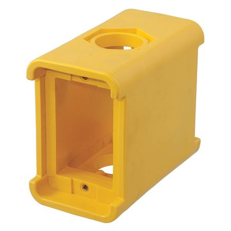 Portable Outlet Box,2Inlet,Thermoplastic HUBBELL WIRING DEVICE-KELLEMS HBL3080F