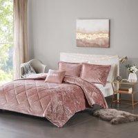 Home Essence Apartment Alyssa Velvet Comforter Set