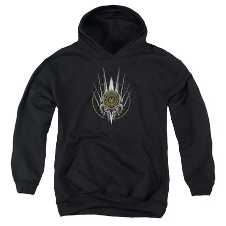 Bsg - Crest Of Ships - Youth Hooded Sweatshirt - X-Large