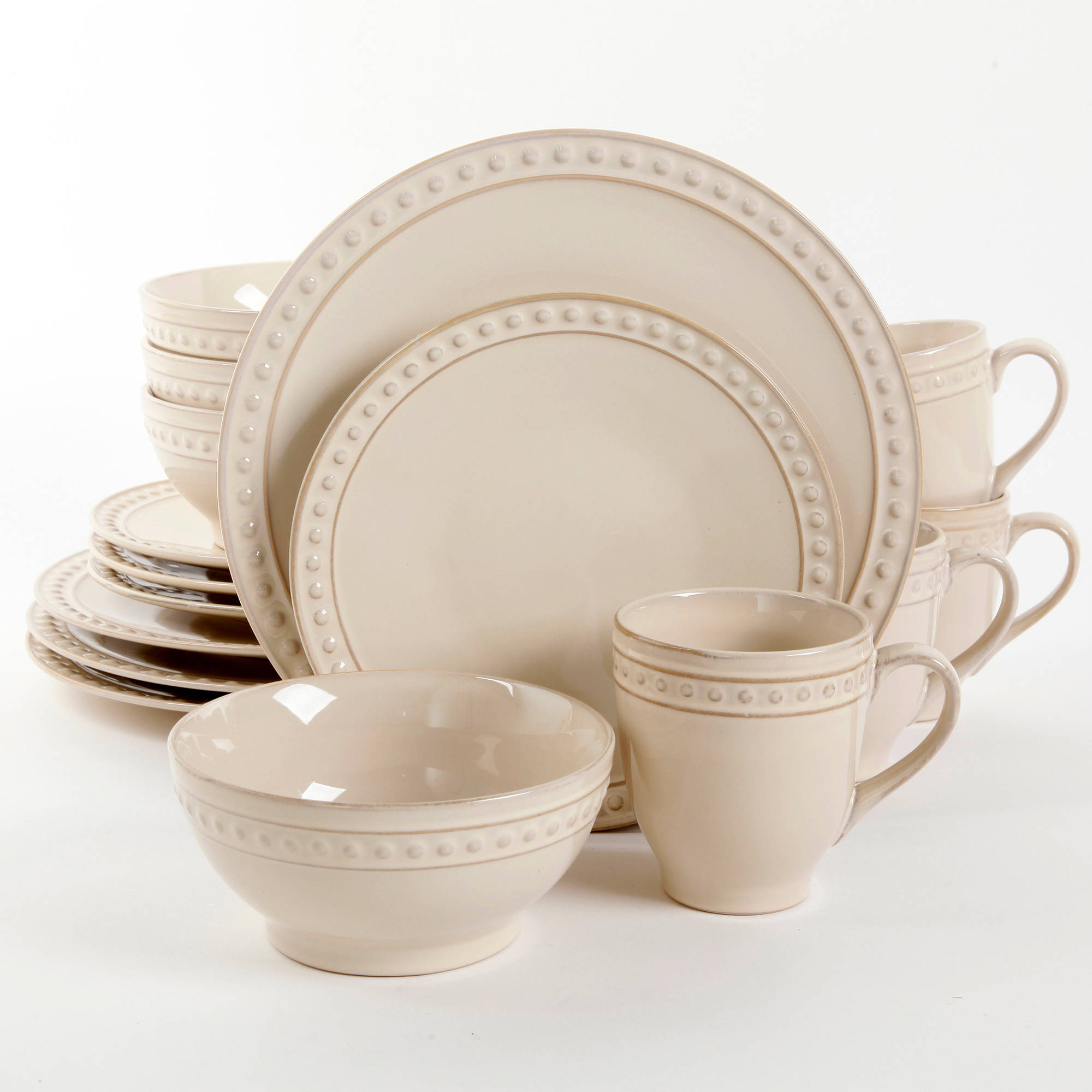 & Better Homes and Gardens Amity 16-Piece Dinnerware Set - Walmart.com
