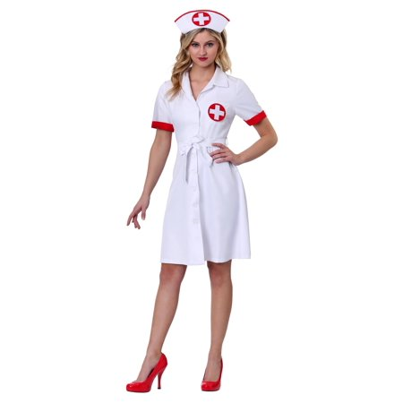 Women's Stitch Me Up Nurse Plus Size Costume - Stitch Costumes