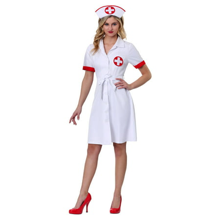 Women's Stitch Me Up Nurse Plus Size Costume (Plus Size Nurse Costume)