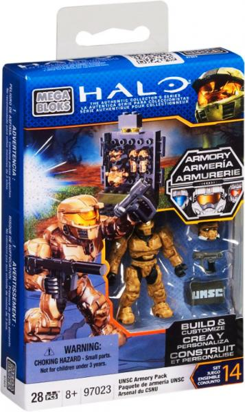 Halo UNSC Armory Pack Set Mega Bloks 97023 by