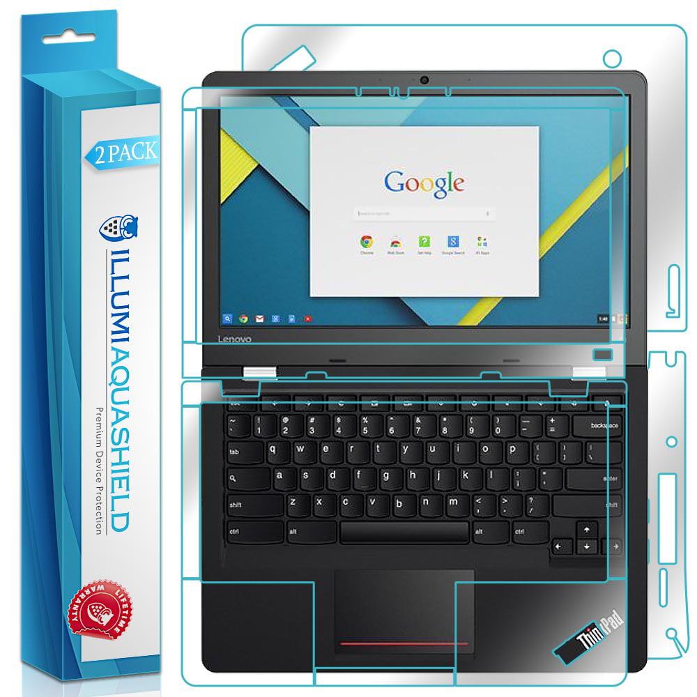 2 x Protector de espalda para Lenovo Thinkpad 13 Chromebook iLLumi AquaShield frente + AquaShield en Veo y Compro