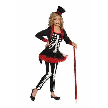 Halloween Child Miss Bone Jangles Costume - Bare Bones Halloween