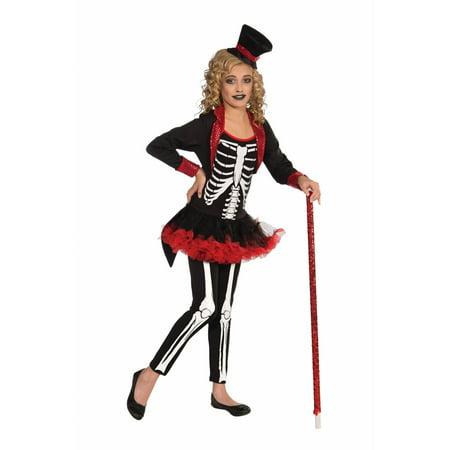 Halloween Child Miss Bone Jangles Costume - Make Halloween Bones