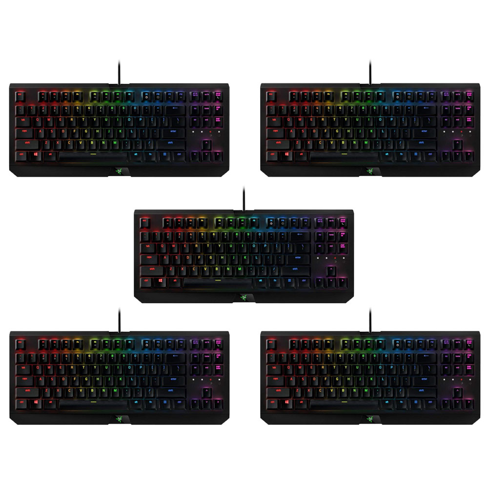 Razer BlackWidow Tournament Edition Chroma X Wired USB Gaming Keyboard (5 Pack) by Razer