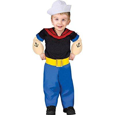 popeye toddler costume toddler (toddler (24 mos.-2t)) - Popeye Costume