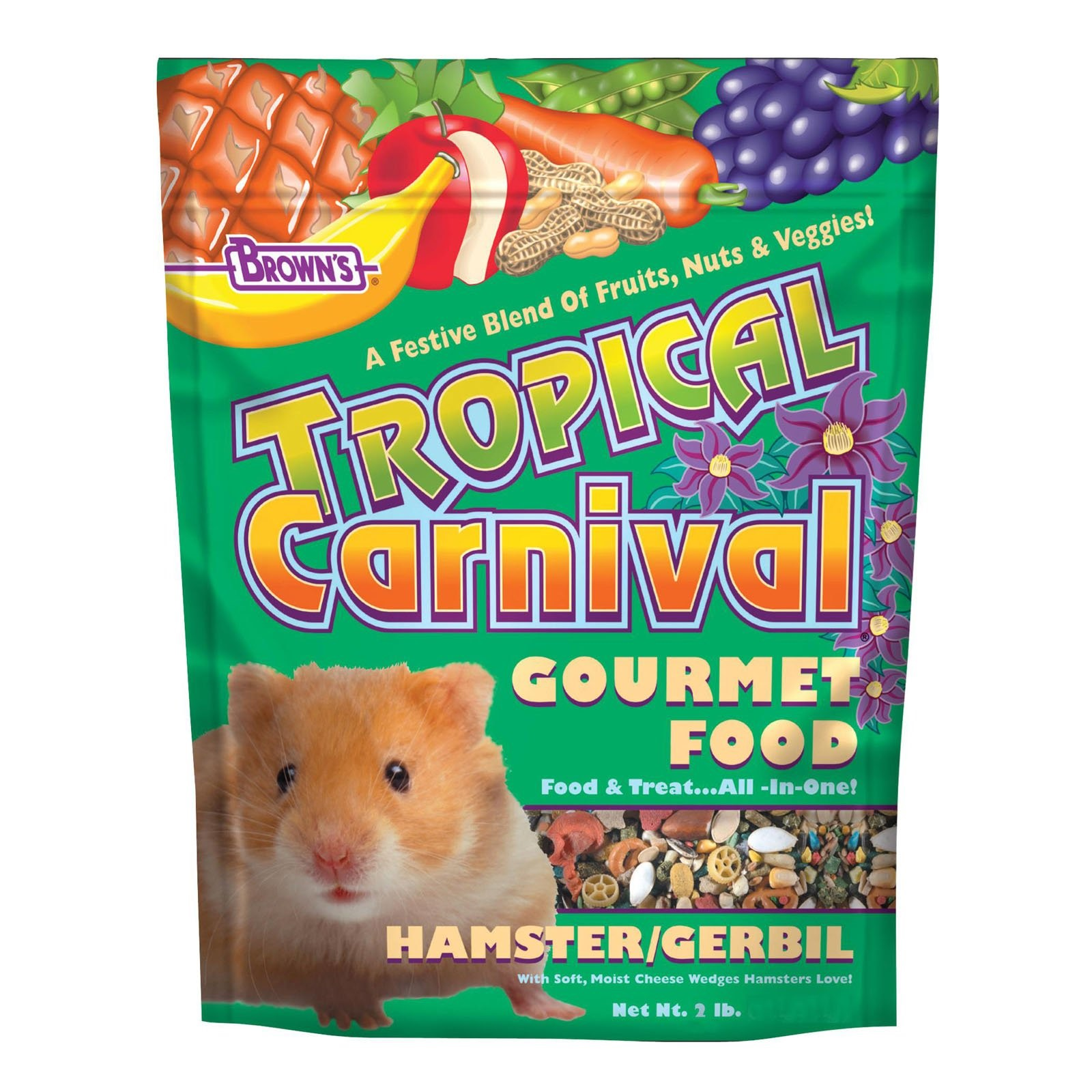 Tropical Carnival Hamster Food by F.M. BROWN'S SONS, INC.