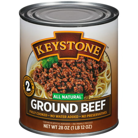 Ground Beer - Keystone Ground Beef, 28 oz