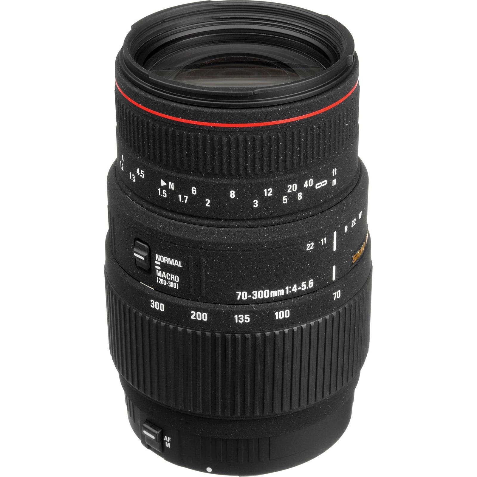 Sigma 70-300mm f/4-5.6 APO DG Macro Zoom Lens (for Canon EOS Cameras)