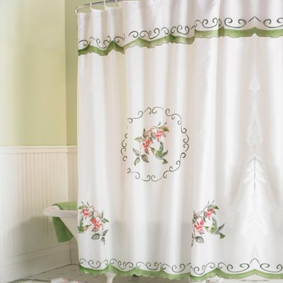 Hummingbird Bathroom Shower Curtain