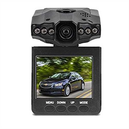 Refurbished Aduro U Drive Dvr Video   Audio Dash Cam W  Infrared Night Vision Leds  2 4 Lcd Screen  270  Rotation  Auto On Off