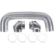 Certified Appliance Accessories 77018 Dryer Vent Duct Kit With Elbows