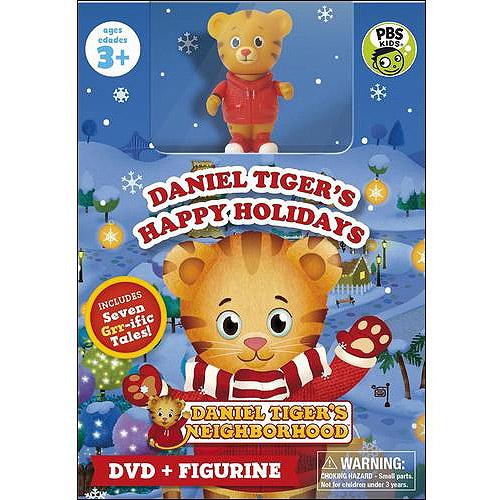 Daniel Tiger's Neighborhood: Daniel's Happy Holidays (DVD + Figure ...