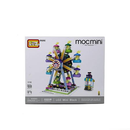LOZ Amusement Park Series Ferris Wheel Kids Puzzle Mini Block Brick Toy -