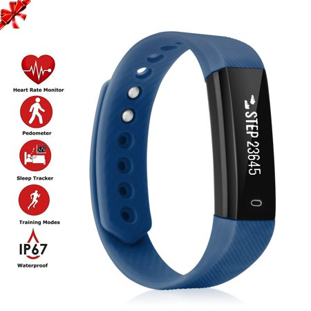 Diggro Fitness Tracker HR, Activity Tracker Watch with Heart Rate Monitor,  IP67 Water Resistant Smart Bracelet with Calorie Counter Pedometer Watch