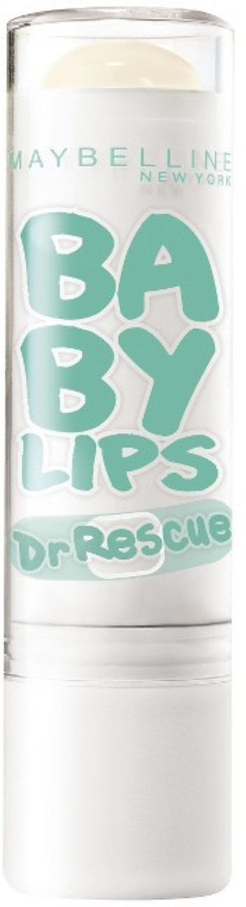 Maybelline New York Baby Lips Dr. Rescue Medicated Lip Balm, Too Cool [35] 0.15 oz (Pack of 6)