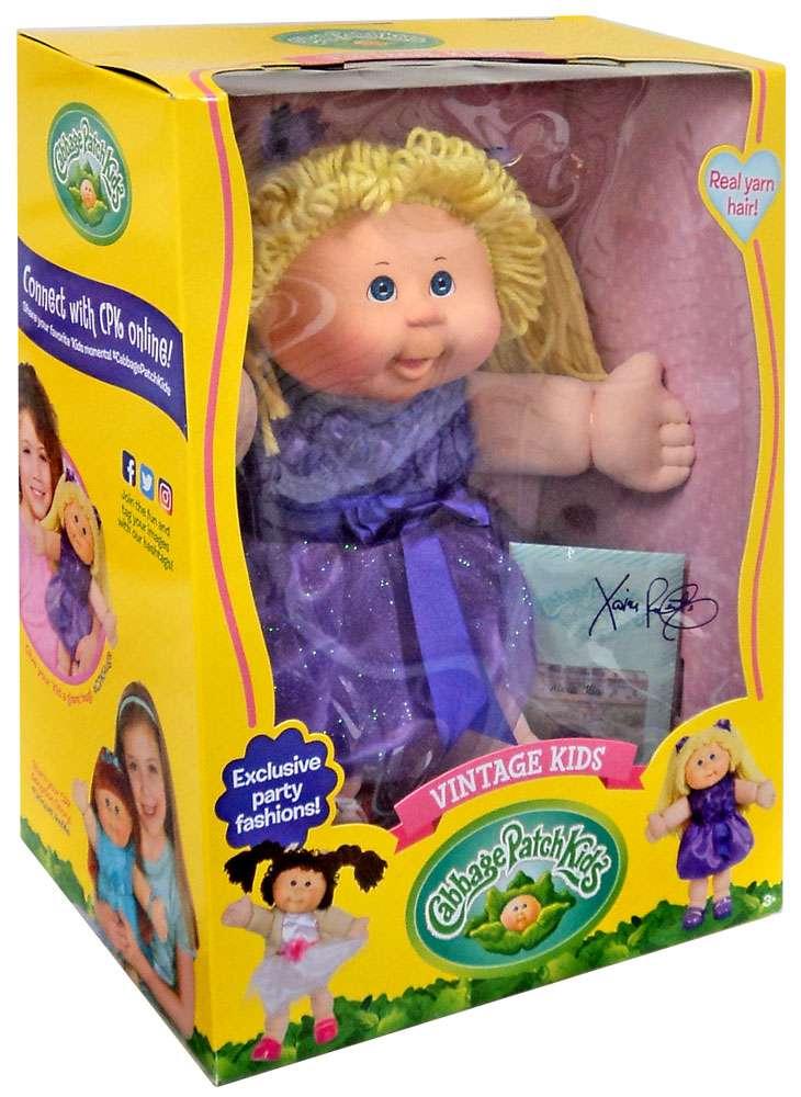 Cabbage Patch Kids Vintage Kids Blonde Doll by