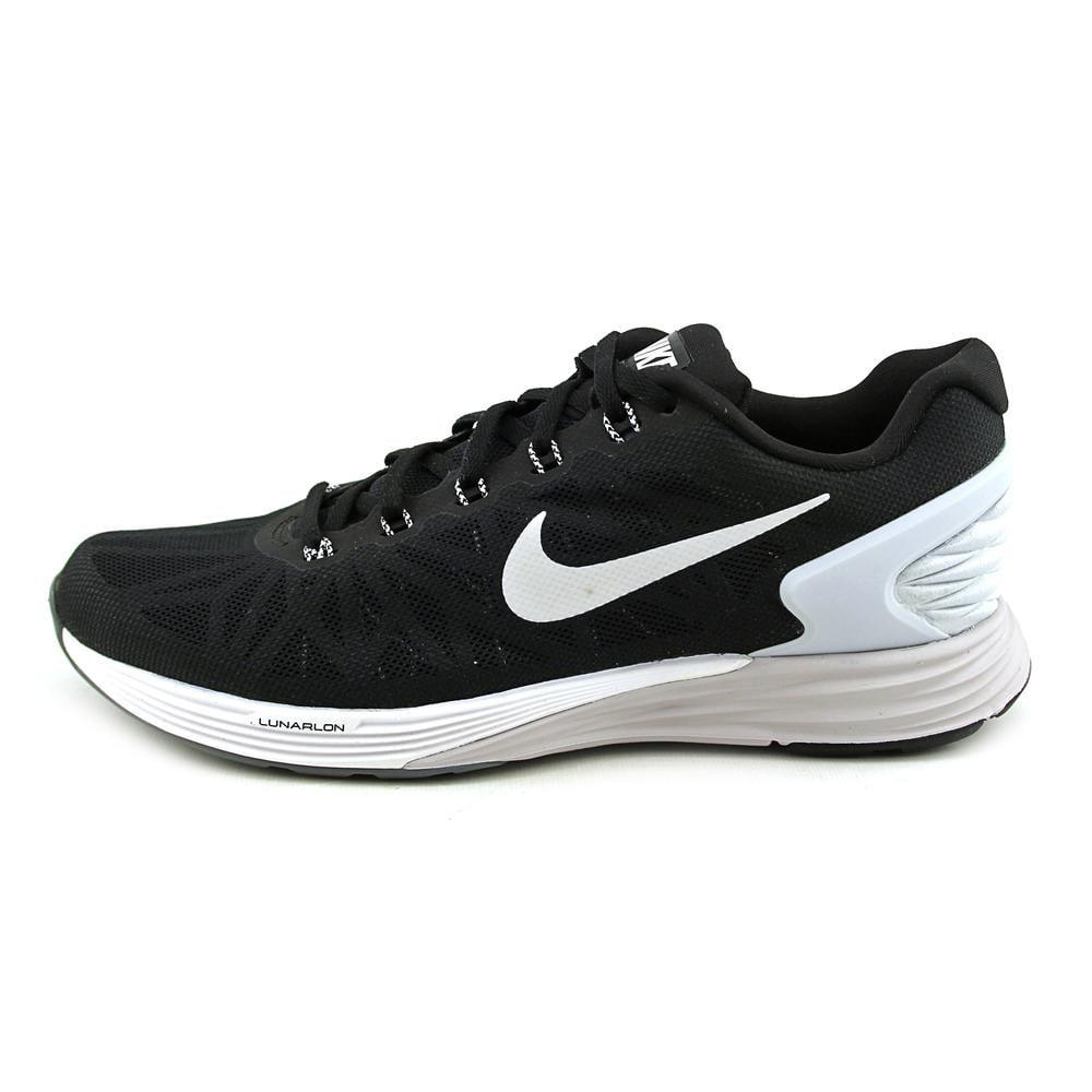 finest selection 6f70d 8a534 Nike - Nike Lunarglide 6 Men US 10.5 Black Running Shoe - Walmart.com